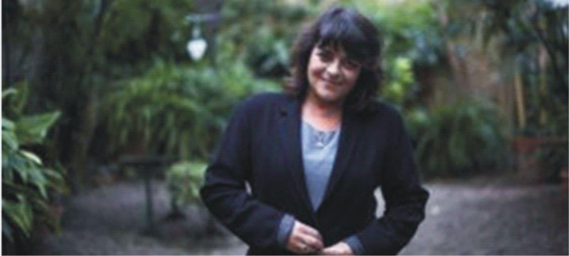 La escritora Giovanna Valls