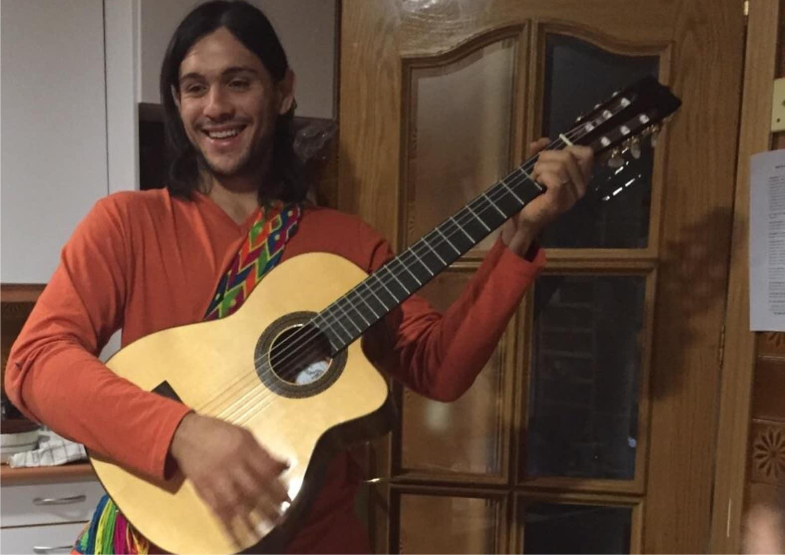 eirik y guitarra